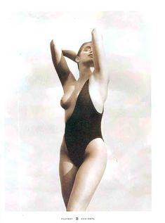 Обнаженная Синди Кроуфорд  в журнале Playboy фото #5