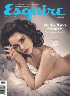 Эротичная Эмилия Кларк  в журнале Esquire фото #1