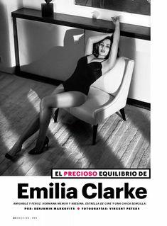Эротичная Эмилия Кларк  в журнале Esquire фото #2