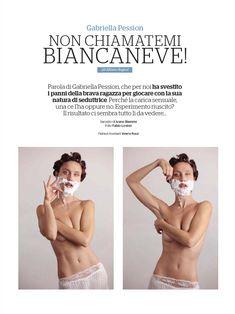 Красивая Габриэлла Пессион снялась голой в журнале Playboy фото #2