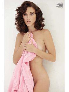 Красивая Габриэлла Пессион снялась голой в журнале Playboy фото #3