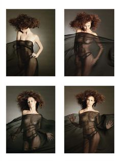 Красивая Габриэлла Пессион снялась голой в журнале Playboy фото #9