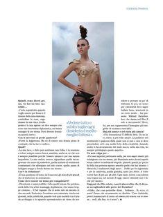 Красивая Габриэлла Пессион снялась голой в журнале Playboy фото #11
