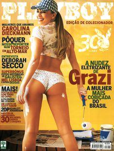 Сексуальная Граци Массафера полностью обнажилась в журнале Playboy фото #1