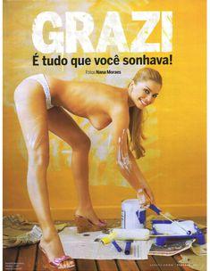 Сексуальная Граци Массафера полностью обнажилась в журнале Playboy фото #2