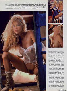Хайди Марк разделась в журнале Playboy фото #3