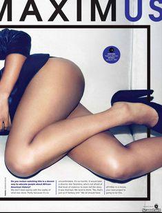 Секси Керри Вашингтон  в журнале Maxim фото #3