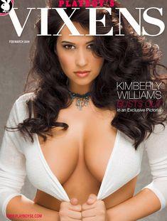 Абсолютно обнажённая Кимберли Уильямс в журнале Playboys Vixens фото #1