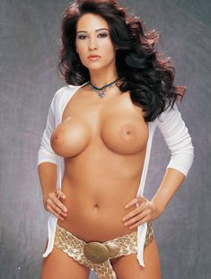 Абсолютно обнажённая Кимберли Уильямс в журнале Playboys Vixens фото #4