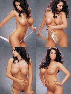 Абсолютно обнажённая Кимберли Уильямс в журнале Playboys Vixens фото #6