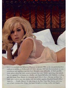 Красивая Стелла Стивенс снялась голой в журнале Playboy фото #3