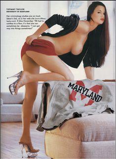 Тиффани Тейлор без белья в журнале Playboys College Girls фото #1