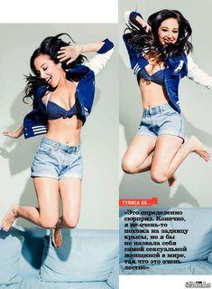 Сексуальная Тулиса Контоставлос в эротическом наряде для журнала FHM фото #4
