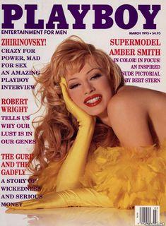 Абсолютно голая Эмбер Смит в журнале Playboy фото #1