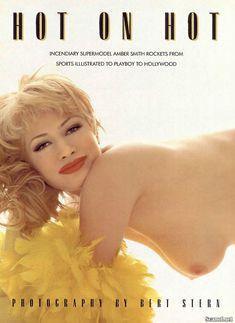 Абсолютно голая Эмбер Смит в журнале Playboy фото #2