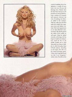 Абсолютно голая Эмбер Смит в журнале Playboy фото #4