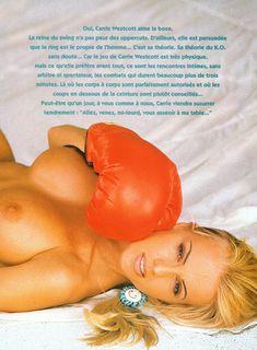Голые прелести Кэрри Уэсткотт в журнале Playboy Hors Serie фото #2