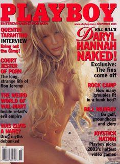 Обнаженная Дэрил Ханна  в журнале Playboy фото #1