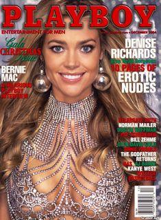 Обнаженная Дениз Ричардс  в журнале Playboy фото #1