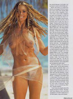 Обнаженная Дениз Ричардс  в журнале Playboy фото #4