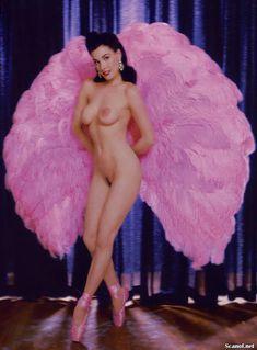 Полностью голая Дита Фон Тиз  в журнале Playboy фото #2