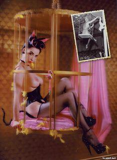 Полностью голая Дита Фон Тиз  в журнале Playboy фото #5