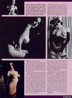 Полностью голая Дита Фон Тиз  в журнале Playboy фото #9