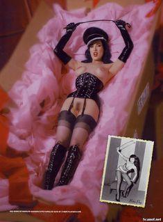 Полностью голая Дита Фон Тиз  в журнале Playboy фото #10