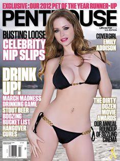 Полностью обнажённая Эмили Эддисон снялась в журнале Penthouse фото #1