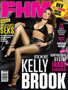 Соблазнительная Келли Брук в журнале FHM фото #1