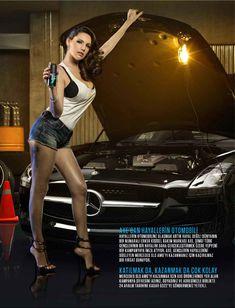 Соблазнительная Келли Брук в журнале FHM фото #2
