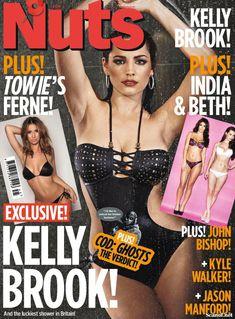 Сексапильная Келли Брук для журнала Nuts фото #1
