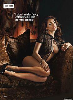 Сексапильная Келли Брук для журнала Nuts фото #3