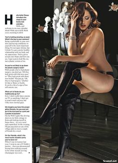 Сексапильная Келли Брук для журнала Nuts фото #4