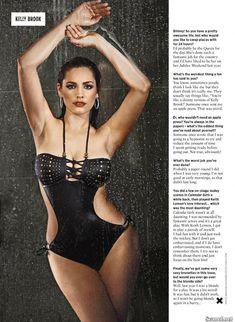 Сексапильная Келли Брук для журнала Nuts фото #5