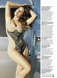 Аппетитная красотка Келли Брук для журнала ZOO фото #5