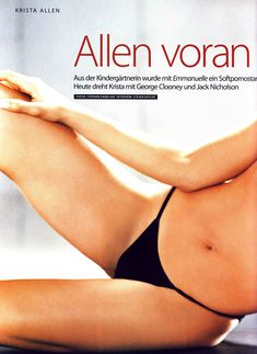 Соблазнительная Криста Аллен  в журнале Die Girls Von FHM Summer фото #1