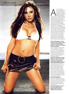 Соблазнительная Криста Аллен  в журнале Die Girls Von FHM Summer фото #3
