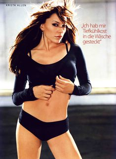 Соблазнительная Криста Аллен  в журнале Die Girls Von FHM Summer фото #5