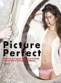 Эротичная Лоренца Иззо на фото в журнале FHM фото #1