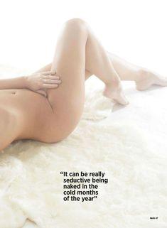 Люси Пиндер в эротической фотосессии для журнала Nuts фото #5