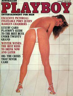 Голая грудь Мэрилин Чэмберс в австралийском журнале Playboy фото #1