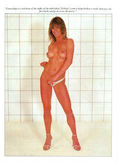 Голая грудь Мэрилин Чэмберс в австралийском журнале Playboy фото #4