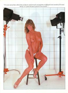 Голая грудь Мэрилин Чэмберс в австралийском журнале Playboy фото #5