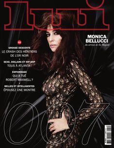 Соблазнительная Моника Беллуччи  в журнале Lui фото #1