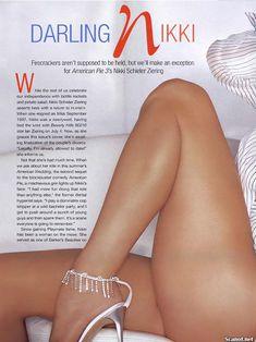 Обнаженная Никки Шилер Зиринг  в журнале Playboy фото #1