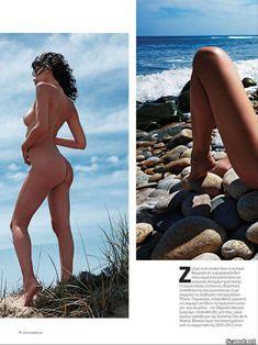 Обнаженная Пас де ла Уэрта  в журнале Playboy фото #4