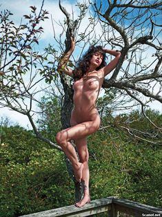 Обнаженная Пас де ла Уэрта  в журнале Playboy фото #7
