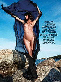Обнаженная Пас де ла Уэрта  в журнале Playboy фото #8