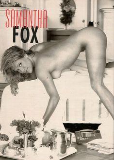 Игривая Саманта Фокс разделась в журнале Playboys Nude Celebrities фото #1